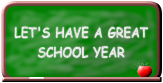 Let's Have a Great School Year Chalkboard